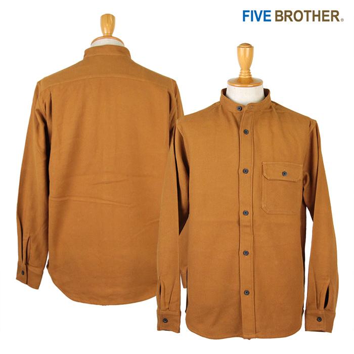 FIVE BROTHER,ファイブブラザー,ネルシャツ,ワークシャツ,152062
