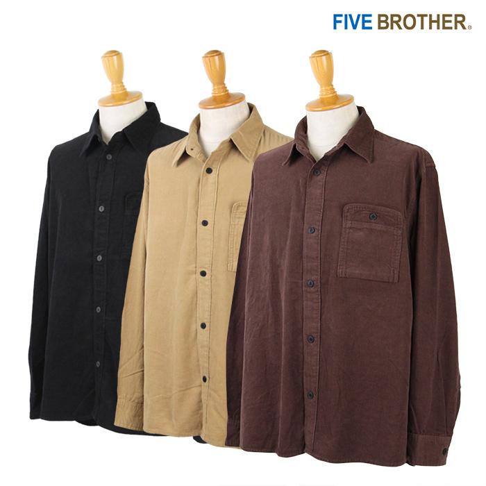 FIVE BROTHER,ファイブブラザー,シャツ,コーデュロイ,152080